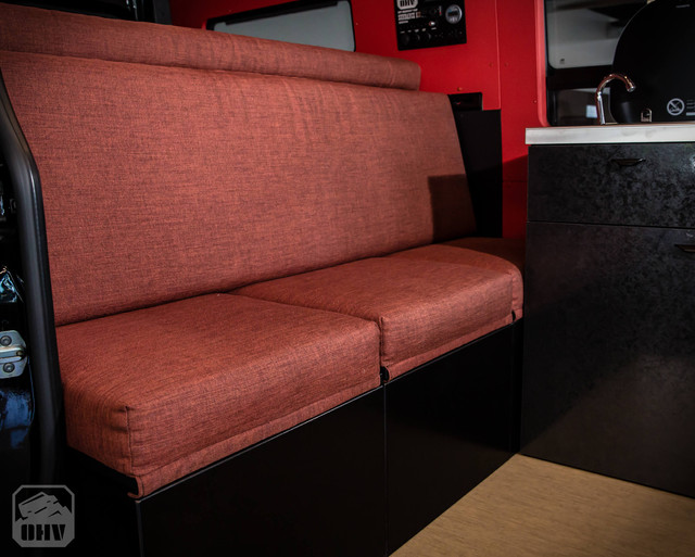 Sprinter Van Camper Bench Seats