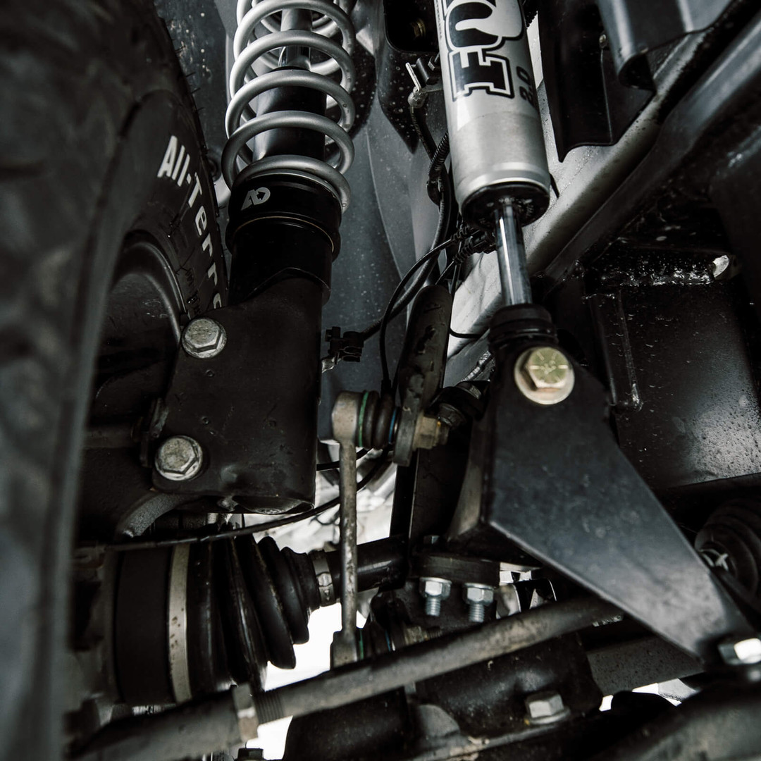 Sprinter 4WD Suspension Upgrades