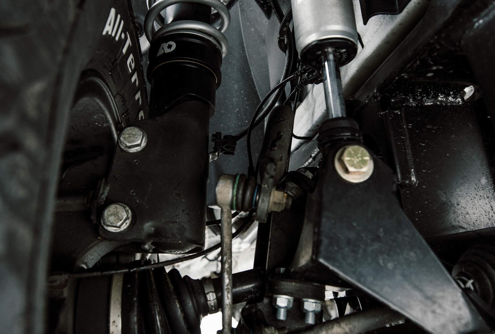 Sprinter 4WD Suspension Upgrades