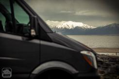 Sprinter Van Camper Front View