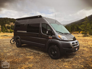 Promaster Van Camper Build Outside View