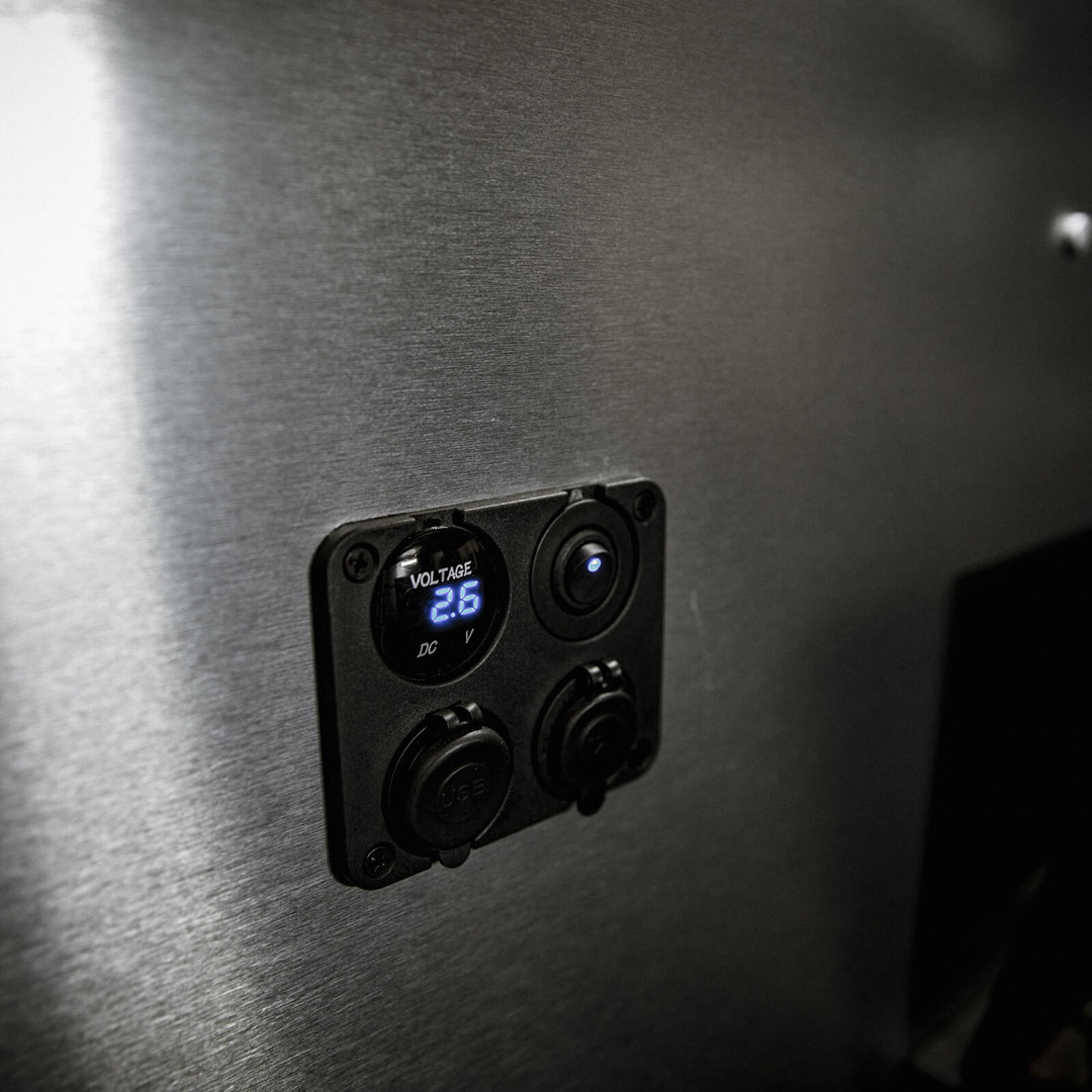 OHV Monitor Panel