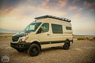Sprinter Van Camper Exterior Pop-Out