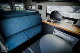 Sprinter Van Camper Kitchen Seating