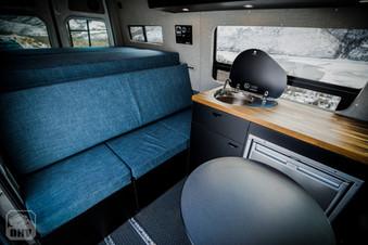 Sprinter Van Camper Kitchen Seating