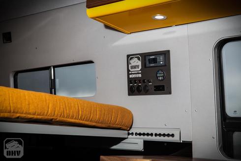 Sprinter Van Camper Switch Panel