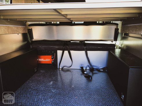 Promaster Van Camper Cargo Area Flooring