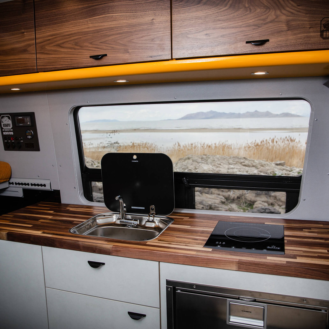 OHV Premium Galley Kitchen