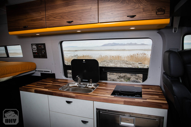 Sprinter Van Camper Big Kitchen