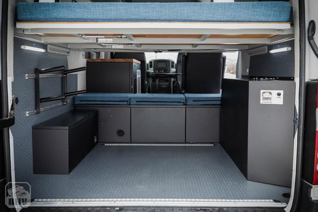 Sprinter Van Camper Garage Storage