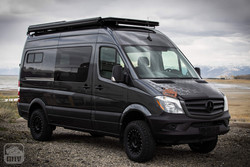 Sprinter Van Camper Exterior Build