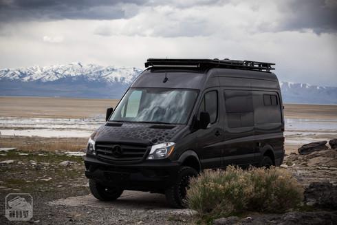 Sprinter Van Camper Mountain View