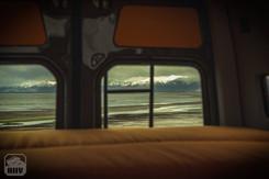 Sprinter Van Camper Bed View