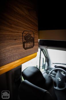 Sprinter Van Camper Custom Cabinets
