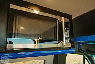 2019 Sprinter Van Camper Microwave