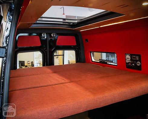Custom sprinter van interior