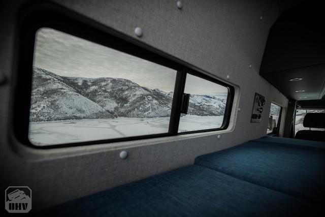 Sprinter Van Camper Slider Windows