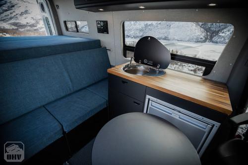 Sprinter Van Camper Seating