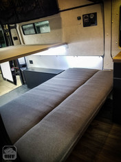 Promaster Van Camper Bench Seat Bed