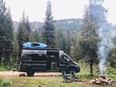Promaster Van Camper Campsite