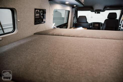 Sprinter Van Camper Elevated Bed