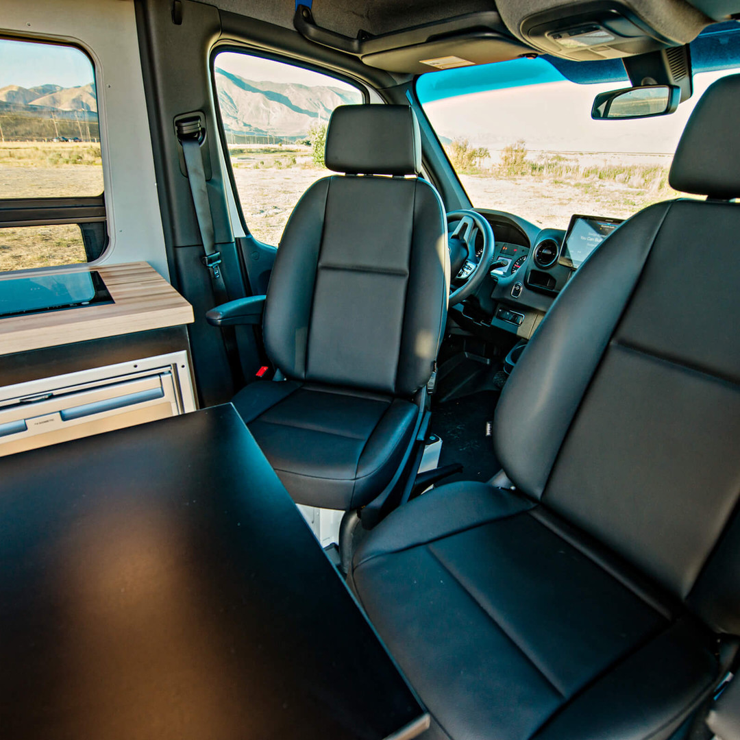 Swivel Seats and Table