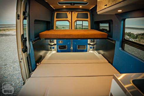 Sprinter Van Camper Interior Sleeping Beds