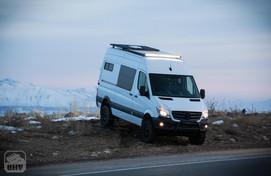 Sprinter Van Camper Front Light Bar
