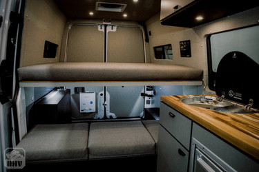 Sprinter Van Camper Interior Build