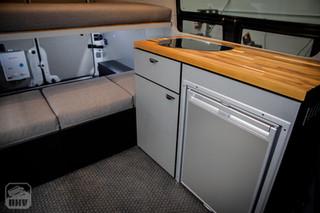 Sprinter Van Camper Galley Kitchen