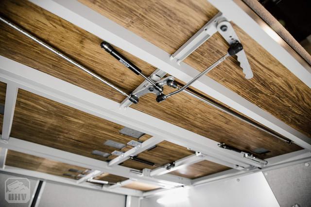 Sprinter Van Camper Removable Bed Panels
