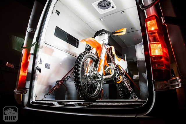 Sprinter Van Camper Moto Tie-downs