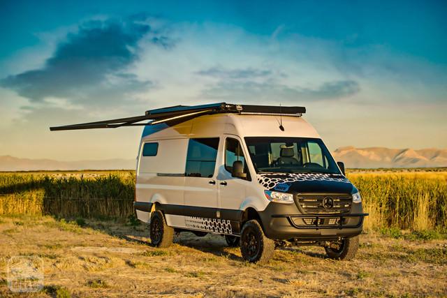 2019 Sprinter Van Camper Side Awning