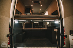 Sprinter Van Camper Rear View