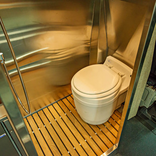 Fully Integrated Sprinter Van Toilet