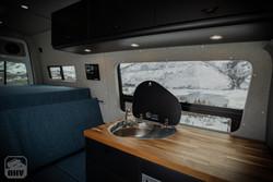 Sprinter Van Camper Kitchen