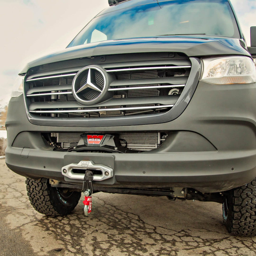 Front Winch and Bumper