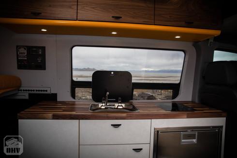 Sprinter Van Camper Big Kitchen