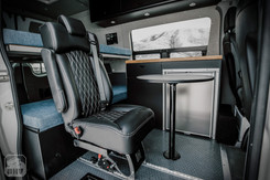 Sprinter Van Camper Removable Passenger Seat
