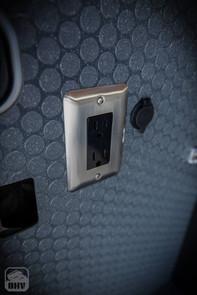 Sprinter Van Camper 110v & USB outlets
