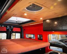 Sprinter Van Camper Skylight Ceiling