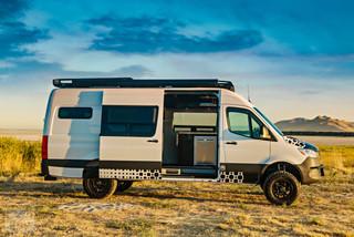 2019 Sprinter Van Camper Inside View