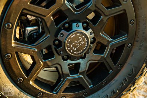 Sprinter Van Camper Wheel upgrades