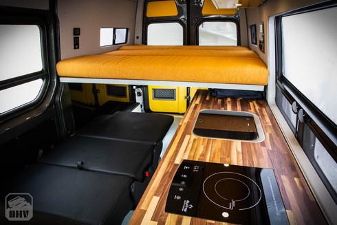 Sprinter Van Camper Interior Sleeping