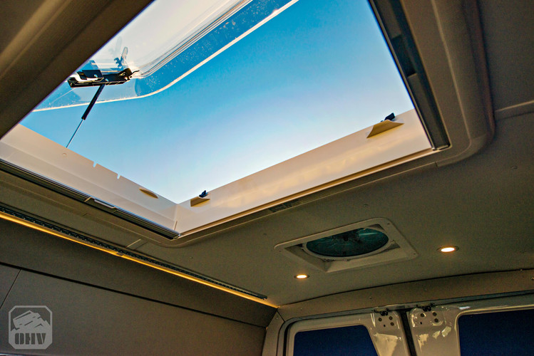 2019 Sprinter Van Camper Skylight