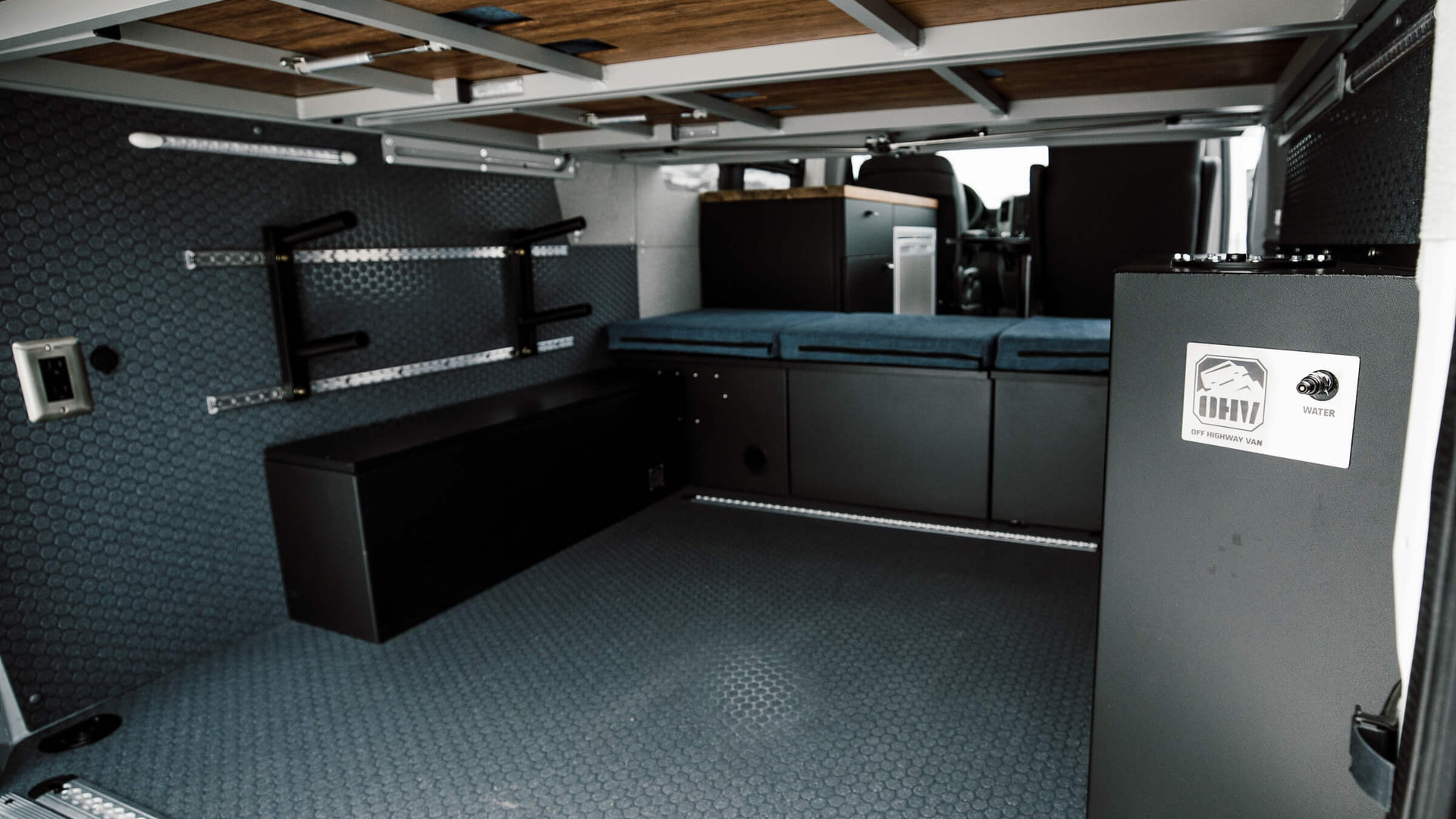 Garage and Cargo Area