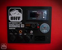 Sprinter Van Camper Light Switch Panel