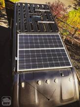 Promaster Van Camper Roof Solar Panels