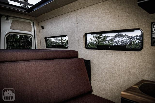 Sprinter Van Camper Side Windows