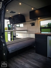 Promaster Van Camper Interior Build Out